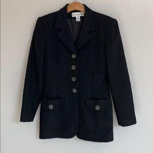 Dior Black Wool Blazer